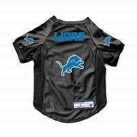 NEW DETROIT LIONS DOG CAT DELUXE STRETCH JERSEY