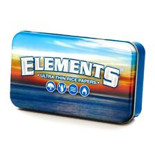 ELEMENTS Rolling Paper Tin Case NEW!