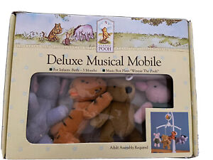 Winnie the Pooh Classic Deluxe 🎶 Musical Mobile New In Box