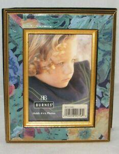 """Burnes M71546 Floral Design Slip-in Album . For 4""""x6"""" Photos - Holds 60 Pictures"""
