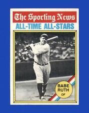 1976 Topps Set Break #345 Babe Ruth  NR-MINT *GMCARDS*