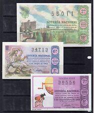España Loteria Nacional edición facsimil años 1962-66 (DI-288)