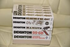 Len Deighton Collection Books Set SS-GB, City of Gold, Declarations of War, XPD