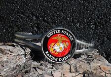 United States Marine Corps Image Cuff Bracelet