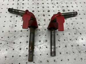 Troy Bilt Pony Riding Mower OEM Front Axle Wheel Spindles Left Right Set of Two