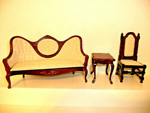 Vintage 1 12 Dollhouse Chairs For Sale Ebay