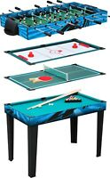 Small Foot 4 in 1 Multifunctional Table 11279 Snooker Hockey table Tennis Game