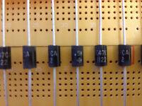 6.8V 47V 400V  Voltage Supressor TVS Diode 1500W Bi-directional 1.5KE CA Series