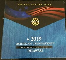 2019 S American Innovation REVERSE PROOF COIN DELAWARE