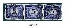 ITALIA REP. - Segnatasse - 1962 - Filigrana stelle  4° tipo, gomma arabica