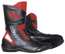 Nuevo DAYTONA Botas de motocicleta Carver rojo negro Talla 41