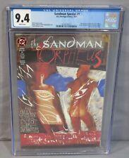 SANDMAN SPECIAL: ORPHEUS #1 (Glow-In-The-Dark Cover) CGC 9.4 NM DC/Vertigo 1991