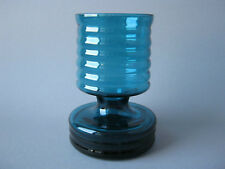 WMF vaso di vetro 15 cm Tuerkis design cari Zalloni Glass 70er anni Panton aera