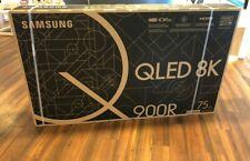 Samsung Tv Qled Ultra HD 8k Q900r Smart TV, Tizen Ultra Slim, 85 Pollici, Nuovo
