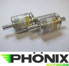 Autogas Filter 2 x 12mm-12mm Gasfilter KME LPG