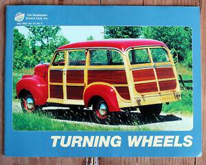 Studebaker Turning Wheels Magazine, May 2002 Vol 34 No 5 M5 Wagon