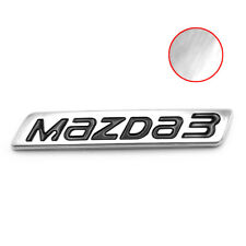 Logo Emblem Badge Decal Mazda3 Trim Chrome For Mazda Mazda3 2015 - 2018