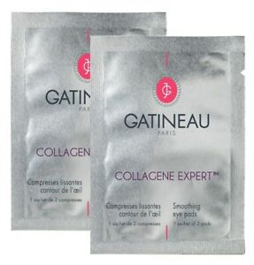 2 x Gatineau Paris Collagene Expert Smoothing Eye Pads 2 Pads (4 pads total) NEW