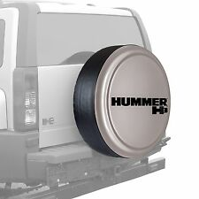 "32"" Hummer H3 Logo - Rigid Tire Cover - Painted - Boulder Gray"