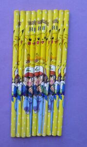 POKEMON GO PIKACHU Writing Pencils - party bag filler school choose quantity