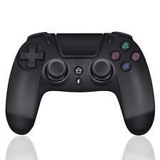 Bluetooth Wireless Controller Gamepad Für PS4 PlayStation 4 Joystick Schwarz Neu