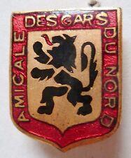 Insigne de boutonnière AMICALE DES GARS DU NORD ORIGINAL émail French Badge