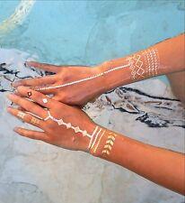 Metallic Temporary Tattoos, gold and silver temporary tattoos