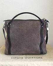 100% Auth LOUIS VUITTON Granit Monogram Antheia Suede Ixia PM Bag Handbag Purse