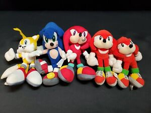 Fun-4-All & Sonic Underground Sega Plush, Sonic, Knuckles & Tails