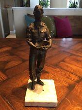 "Vintage 1984 artist Rodger M. Brodin Vietnam War Memorial Sculpture ""The Nurse"""