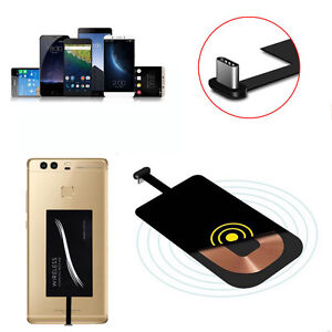 Qi Wireless Type C USB-C Charger Power Charging Receiver For Huawei P9 G5/6 MDF
