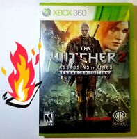 🔥 The Witcher 2 Assassins Of Kings Enhanced Edition Xbox 360 TESTED L👀K! FUN!