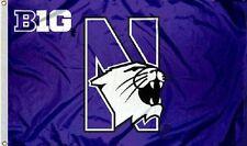 Northwestern Big 10 Flag 3 X 5