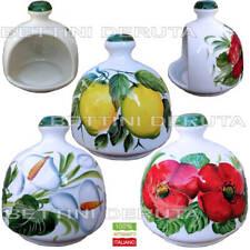 Portaspugna nascondi spugna cucina in ceramica artigianato italiano dipinto mano