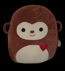 Squishmallow Momo the Monkey with Heart 16' NEW with TAG