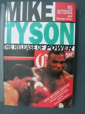 MIKE TYSON signed by author Reg Gutteridge, Release of Power