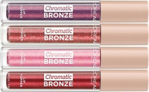 LOREAL Chromatic Bronze Lip Topper Gloss CHOOSE YOUR COLOUR New lipgloss chrome