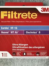 Filtrete 67806C 3M Vacuum Filter Eureka HF-16 * Hoover WT Air *  Electrolux B