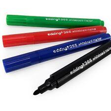 4 X Edding 366 Mini Whiteboard Marker Pen Dry Wipe 10mm 1 Of Each Colour