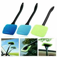 1x Microfiber Car Auto Wiper Windshield Cleaning Glass Window Cleaner Brush Tool