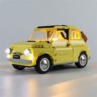 LED Licht Set Für 10271 LEGOs Creator Expert Fiat 500 Kit (mit Anleitung)