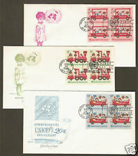 UN #161-63  UNICEF Issue - Set of 3 Artmaster B4FDCs