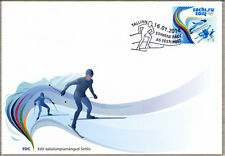First day cover FDC of ESTONIA 2014 - XXII Winter Olympic Games in Sochi/ Сочи
