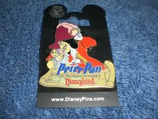 Disney Dlr Featured Artist 55th Anniversary Peter Pan Capt. Hook & Smee Le Pin