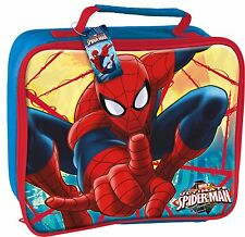 Boyz Toys St461 Insulated Lunch Bag - Spiderman Blue.