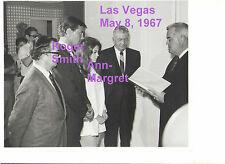 ANN MARGRET ROGER SMITH 5/8/67 WEDDING LAS VEGAS OLD KODAK 8x10 PRESS PHOTO #4