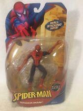"Super Heroes Spiderman Classics Marvel Legends 6"" Figure 2008 Wall Sticking Web"