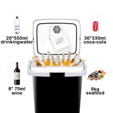 12V Portable Car Iceless Thermoelectric Cooler&Warmer Truck Freezer Food Drinks