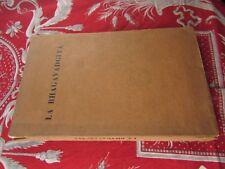 ancien livre la bhagavagdita bouddhisme  arjuna bhakti
