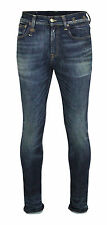 R13 Mens Jeans Skate Carlisl R13M0199203 blau dirty wash Slim Denim Gr. 31 * NEU